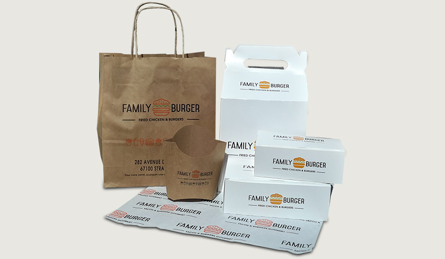 family Burger - Pack complet